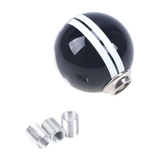 Us 5 Speed Manual Mt Gear Shift Knob Black White Design Fit Ford Mustang Gt500