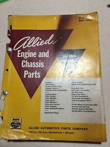 Vintage 1928 1960 Chevrolet Engine Chassis Accessories Catalog Book Truck
