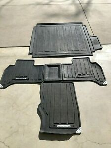 2013 2018 L405 Range Rover Lhd All Weather Rubber Floor Mats Set Swb