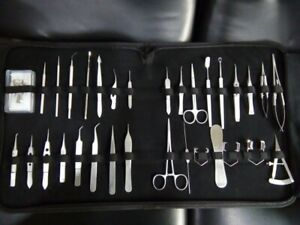 Ophthalmic Cataract Eye Micro Surgery Surgical Instruments Set Kit new 33 Pcs