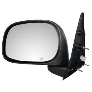 New Drivers Power Side View Mirror Assembly Heated 6x9 02 09 Dodge Pickup Truck
