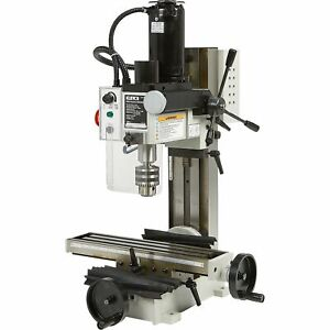 Klutch Mini Milling Machine 350 Watts 1 2 Hp 110v