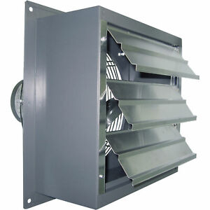 Canarm Wall Exhaust Fan 12in Variable Speed 1 3 Hp s12 evd
