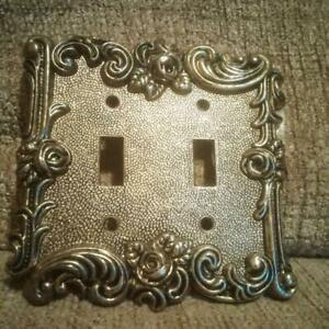 Beautiful Vintage 1967 American Tack Hardware Switch Plate With Screws 60tt