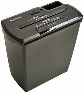 Amazonbasics 8sheet Stripcut Paper Cd And Credit Card Shredder