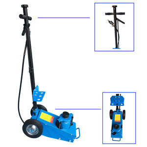 22 Ton Air Hydraulic Floor Jack Truck Cars Hoist Stands Service Repair Lift Tool