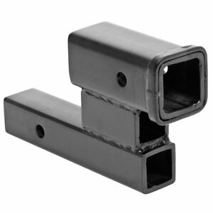 2 Trailer Hitch Receiver 5 000 Lb Towing Rise Drop Adapter Extension