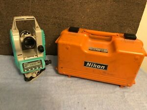 Nikon Ne 100 Electronic Digital Construction Theodolite