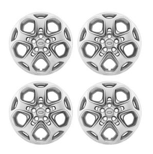 5 lug 5 spoke Bolt On Hub Cap Wheel Rim Covers For 10 12 Ford Fusion