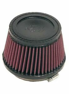 K N Air Filter Filtercharger Conical Cotton Gauze Red 4 Dia Inlet Ea Ru 2510