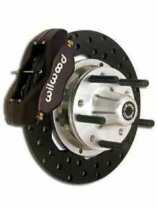 Wilwood Forged Dynalite Front Drag Race Disc Brake Kit 140 4307 Bd