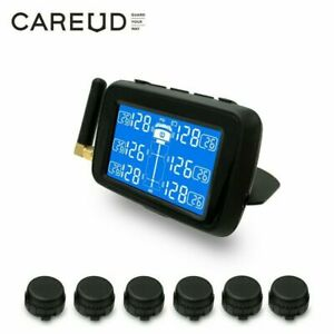 Careud U901t Truck Bus Wireless Tire Pressure Monitoring System Tpms 6 Sensor