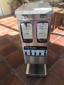 Fetco Gr 2 2 Commercial Coffee Grinder Dual Hopper Used And Tested