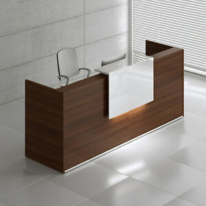 Mdd Tera 97 Lowland Nut Reception Desk With Lighting Panel