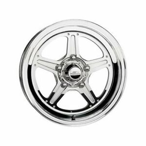 Billet Specialties Street Lite Polished Wheel 15 x3 5 5x4 5 Bc