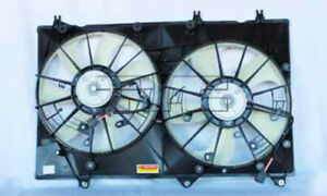 Dual Radiator And Condenser Fan Assembly Fits 08 10 Toyota Highlander 622020