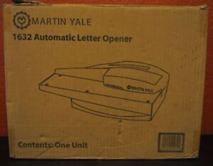 Martin Yale Automatic Letter Opener Automatically Feeds Opens A Stack Envelope