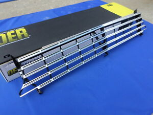 New 1963 Chevy Ii Nova Standard Grill Oer 3833312 Gm Licensed Parts