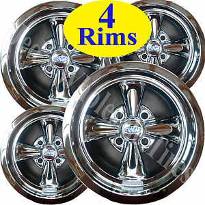 4 Mini Truck Rims Wheels 12x7 4 4 4 100 Cragar Chrome Aluminum Series 410c S S