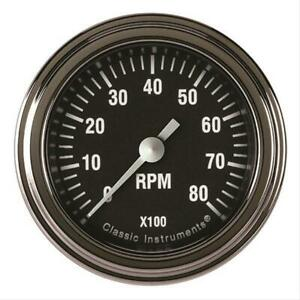 Classic Instruments Hr183slf Tachometer hot Rod Series 2 Tachometer Full Sweep