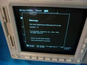 Tektronix Tds 540c 4 Channel Digitizing Oscilloscope W Insta Vu Acquisition