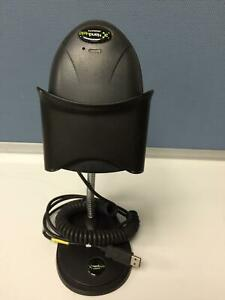 Hand Held Products Hhp 3800 30205 0107s Handheld Usb Barcode Scanner W stand