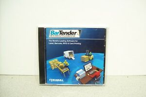 Brand New Sealed Seagull Bartender Label Rfid Software W Product Key Code