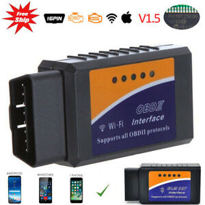 Elm327 Odb2 Obdii Car Wifi Auto Diagnostic Scanner Code Reader For Ios Android
