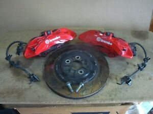 2015 17 Challenger Charger Hellcat Srt Brembo 6 Piston Pot Front Brake Calipers