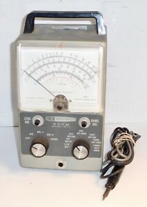 Heathkit Vtvm Model Im 11 Multimeter Probe