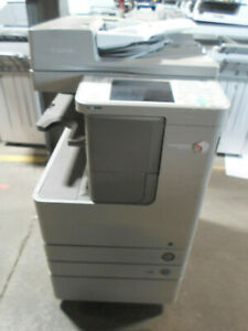 Canon Imagerunner Advance 4225 B w Copier W Internal Finisher Meter 69k Ct