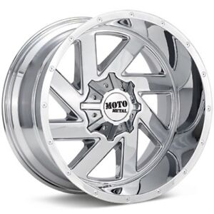 22 Inch Chrome Wheels Rims Lifted Ford Truck F250 F350 Moto Metal Mo988 22x12 4