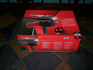 New Snap on Ct761 3 8 Drive 14 4v Microlithium Cordless Impact Wrench Kit