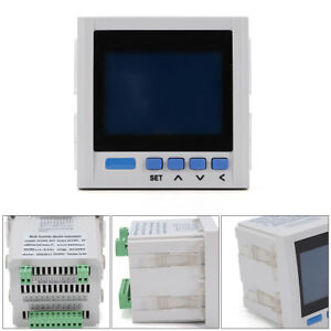 White 3 phase Multi function Digital Power Energy Meter With 2 year Warranty