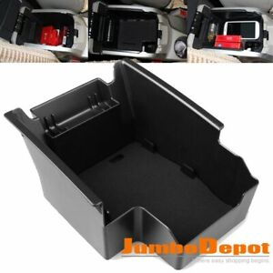 Black Abs Armrest Center Console Storage Box Tray Fit For Ford Escape Kuga 13 16