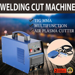 3 In1 Tig air Plasma Cutter Welder Tig Mma Multifunction Ct312 Local Shipping