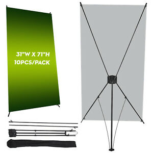 Professional 31 x71 Retractable Roll Up Banner Stand Trade Show Sign Display