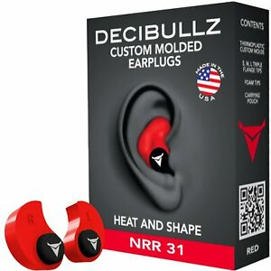 Molded Ear Plugs Custom Hearing Loud Noise Protection For Shooting Travel Sleep