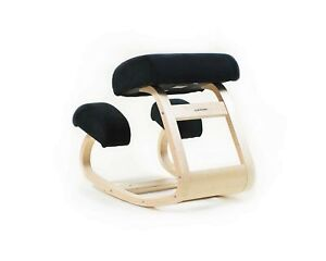Sleekform Ergonomic Kneeling Office Chair Balancing Posture Wood Desk Stool