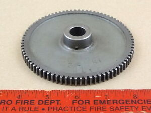 Very Nice Orig South Bend 9 10k Lathe 80 Tooth 80t Idler Gear Part 33nk1