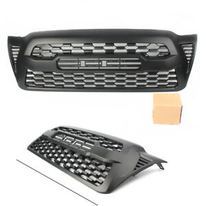 Front Bumper Grilles Grill For Toyota Tacoma 2005 2006 2007 2008 2009 2010 2011