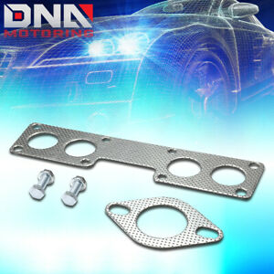 For 1989 1990 Nissan 240sx 2 4l Sohc Aluminum Exhaust Manifold Header Gasket Set