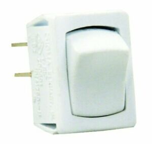Jr Products 13645 White Spst Mini On off Switch
