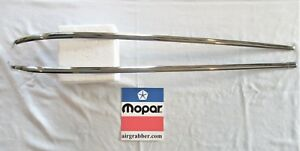 Polished 1973 1974 Dodge Charger Rallye Canopy Vinyl Top Molding Stainless