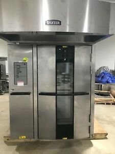 Baxter Double Rack Gas Oven 2011