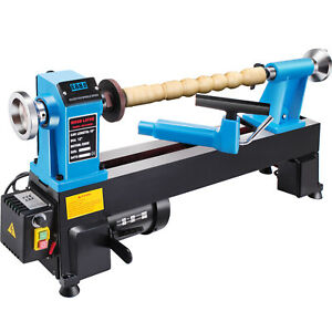 Wood Lathe 12 X 18 Digital Readout 550w Bench Top Cast Iron up To 3800rpm s