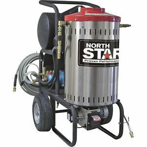 Northstar Electric Wet Steam Hot Water Pressure Washer 2000 Psi 1 5 Gpm 120v