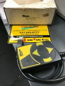 Meyers Snow Plow 22154 Controler New In Box Oem
