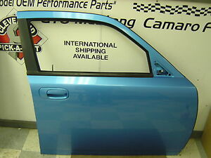 2006 2010 Dodge Charger Oem Rh Right Passenger Front Door Assembly Pearl Blue