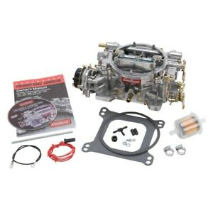 Edelbrock 1406 Performer Carburetor 4 Bbl 600 Cfm Electric Choke Satin Finish
